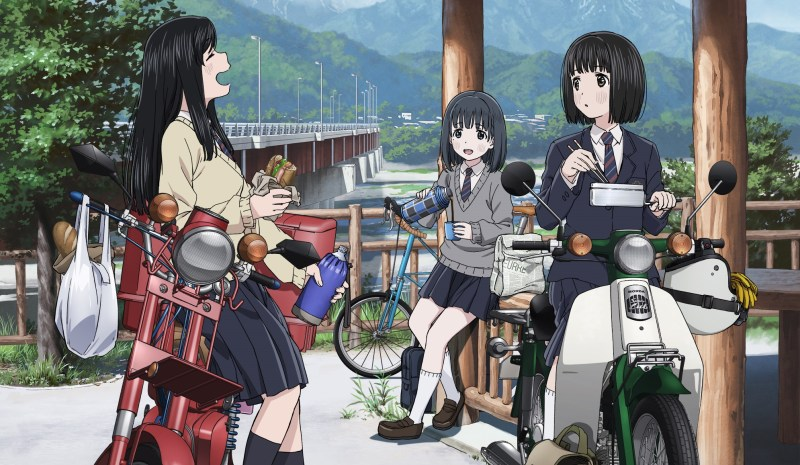 Anime TV Super Cub akan Ditayangkan Sebanyak 12 Episode 1