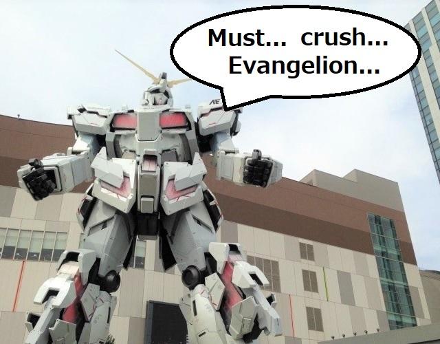 Pencipta Gundam : Saya akan Menghancurkan Demon Slayer dan Evangelion 1