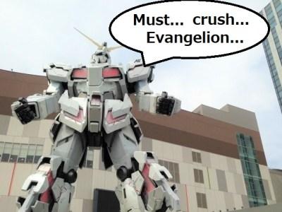 Pencipta Gundam : Saya akan Menghancurkan Demon Slayer dan Evangelion 51
