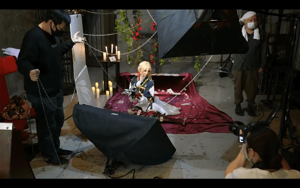 Intip Proses Behind-The-Scene Film Live-Action Violet Evergarden yang Akan Membuatmu Basah Tak Terkira dari Studio TMA 10