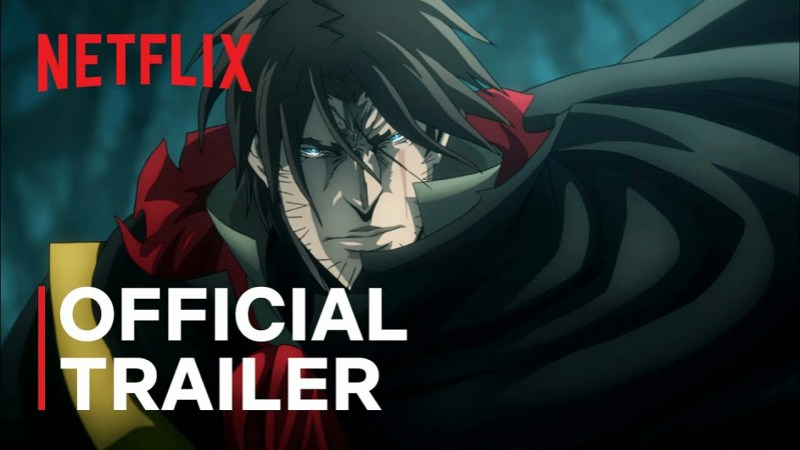 Netflix Mengungkapkan Trailer untuk Season Ke-4 Animasi Castlevania 1
