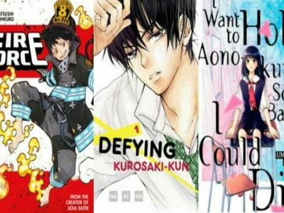 Nominasi Penghargaan Manga Kodansha Tahunan Ke-45 Telah Diumumkan 25