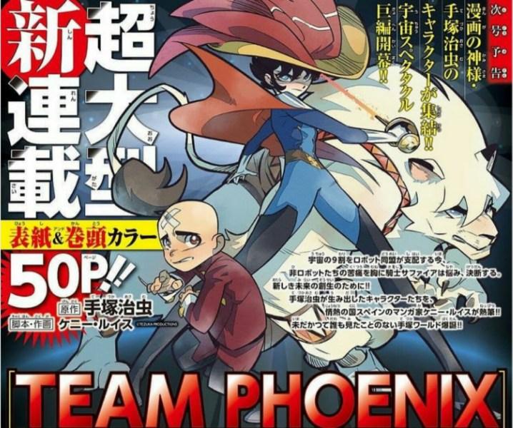 Karakter Osamu Tezuka Mendapatkan Manga Crossover Berjudul Team Phoenix yang Dibuat oleh Artis Spanyol Kenny Ruiz 1