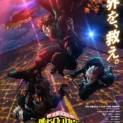 Anime My Hero Academia The Movie: World Heroes' Mission Mengungkapkan Desain Stealth Suit 27