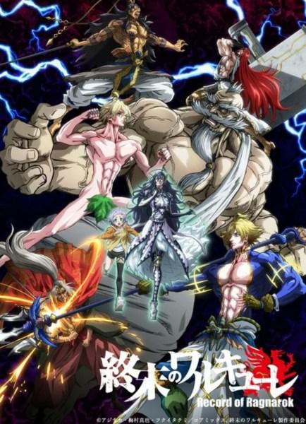 Anime Record of Ragnarok Mengungkapkan Trailer, Seiyuu, Visual, Tanggal Debut Secara Global di Netflix 1