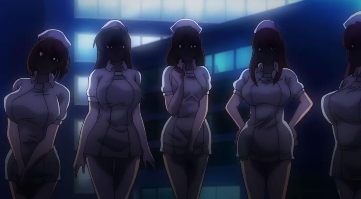 Gadis Perawat Dengan Ekpresi Jijik Kan Merawatmu Dengan Penuh Kasih Dalam Anime Sakusei Byoutou 47