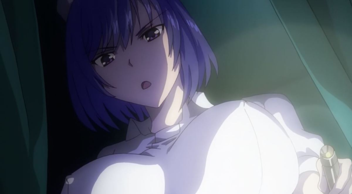 Gadis Perawat Dengan Ekpresi Jijik Kan Merawatmu Dengan Penuh Kasih Dalam Anime Sakusei Byoutou 46