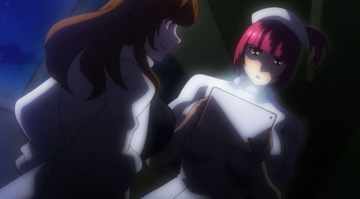 Gadis Perawat Dengan Ekpresi Jijik Kan Merawatmu Dengan Penuh Kasih Dalam Anime Sakusei Byoutou 53