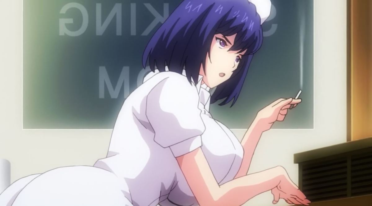 Gadis Perawat Dengan Ekpresi Jijik Kan Merawatmu Dengan Penuh Kasih Dalam Anime Sakusei Byoutou 21