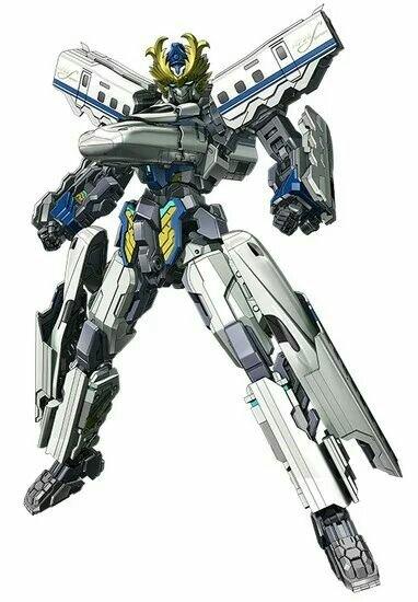 Robot Anime Shinkansen