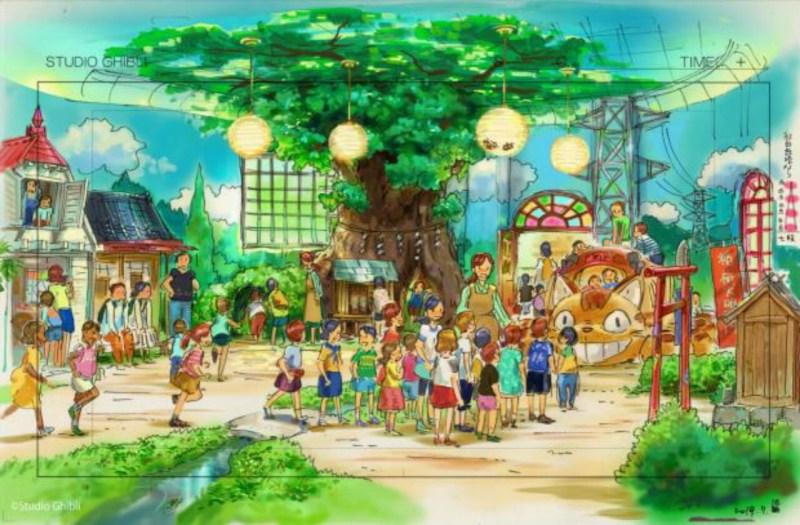 Area My Neighbor Totoro dari Taman Ghibli Diberitakan saat Konstruksi Berlanjut 1
