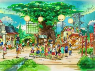 Area My Neighbor Totoro dari Taman Ghibli Diberitakan saat Konstruksi Berlanjut 5