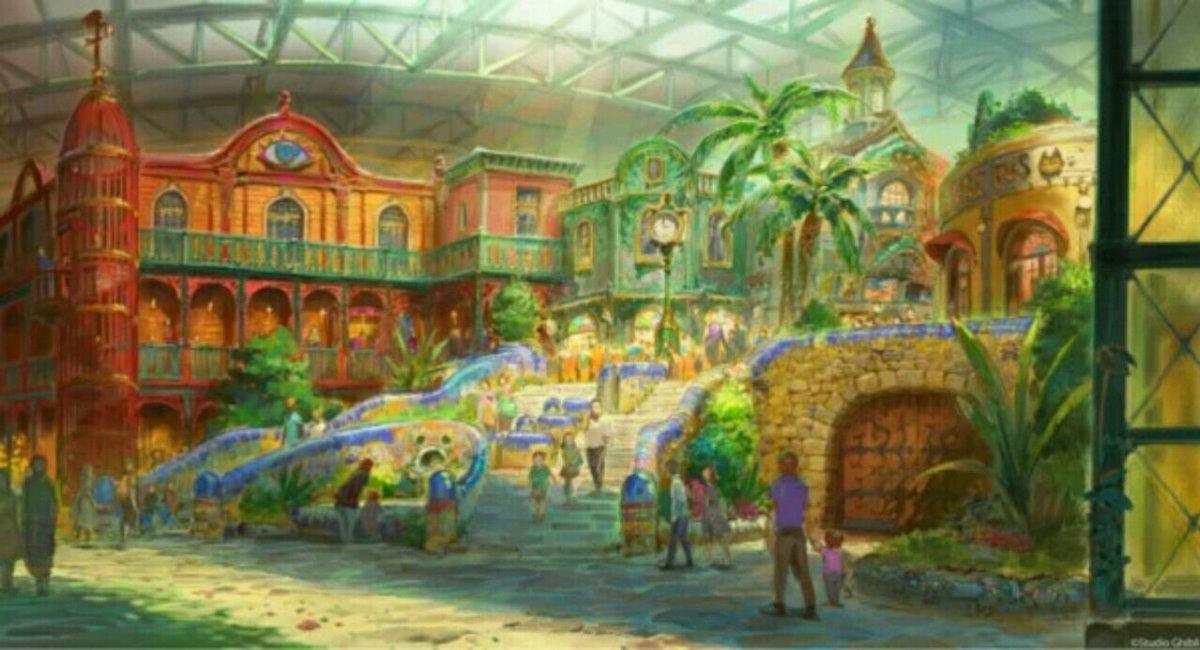 Area My Neighbor Totoro dari Taman Ghibli Diberitakan saat Konstruksi Berlanjut 3