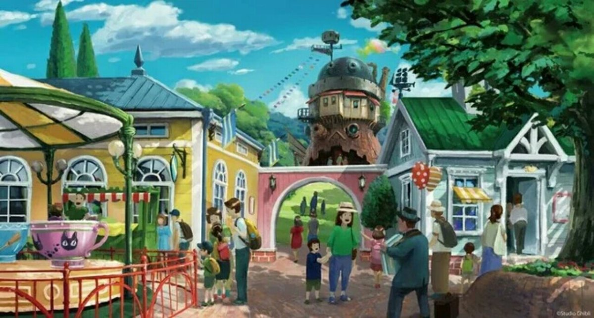 Area My Neighbor Totoro dari Taman Ghibli Diberitakan saat Konstruksi Berlanjut 4