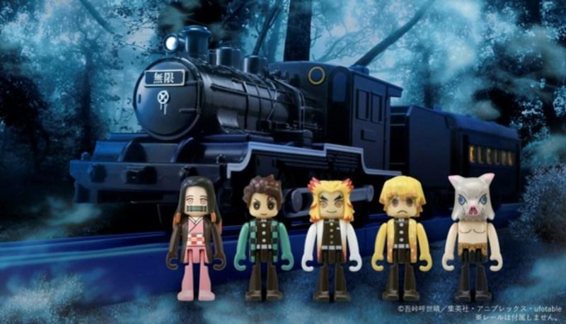 """Demon Slayer's Mugen Train Mendapatkan Mainan """"Plarail"""" dari Takara Tomy 1"""