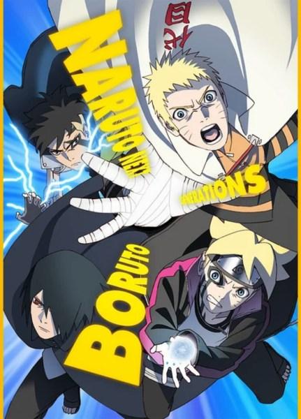 Anime Boruto Memasuki Arc Baru dan Merilis Visual Baru 1