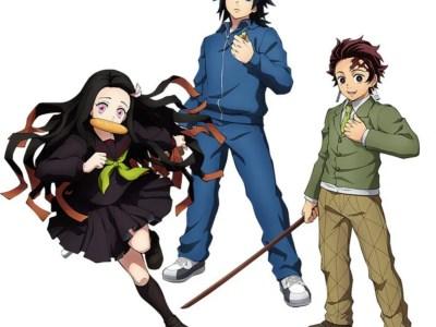 Game Demon Slayer: The Hinokami Chronicles Tambahkan Tanjiro, Nezuko, dan Giyu Tomioka versi 'Kimetsu Gakuen' 8