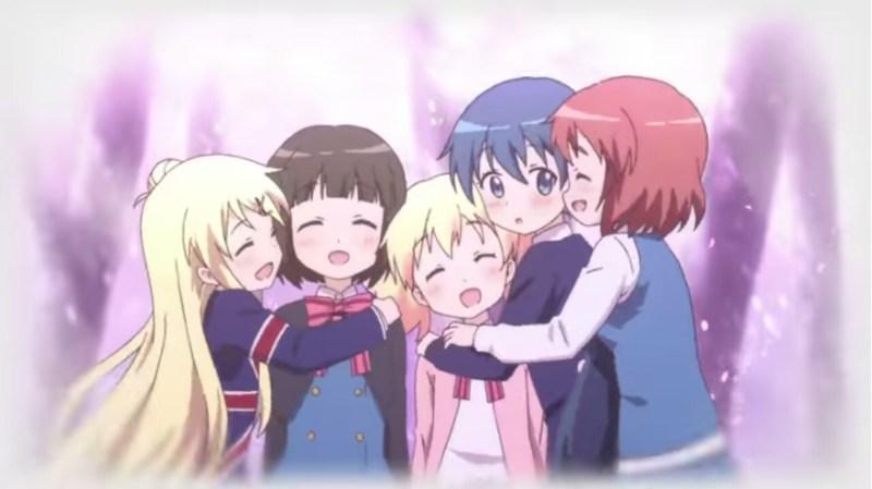 Trailer Film Anime Kin-iro Mosaic Menyoroti Trip Sekolah ke Kyoto 1