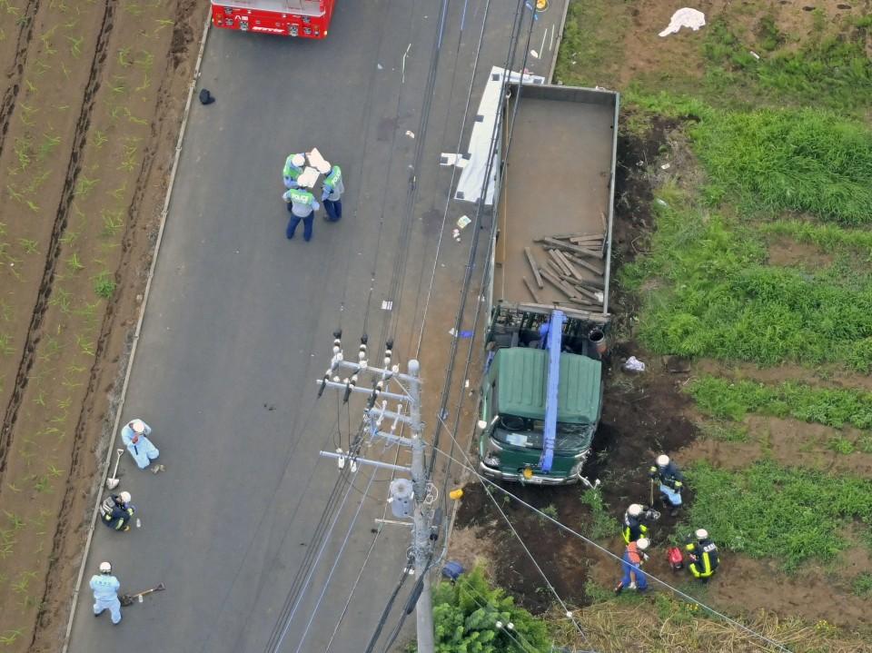 Kecelakaan Truk di Prefektur Chiba Sebabkan 2 Anak Tewas dan 3 Lainnya Luka-Luka 2