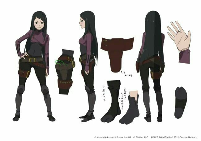 Crunchyroll dan Adult Swim Mengungkapkan Banyak Informasi tentang Fena: Pirate Princess (Kaizoku Ōjo) 7