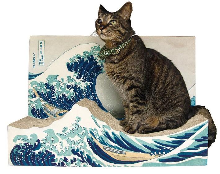 Produk Balok Kayu Paling Ikonik di Jepang Untuk Kucing 6