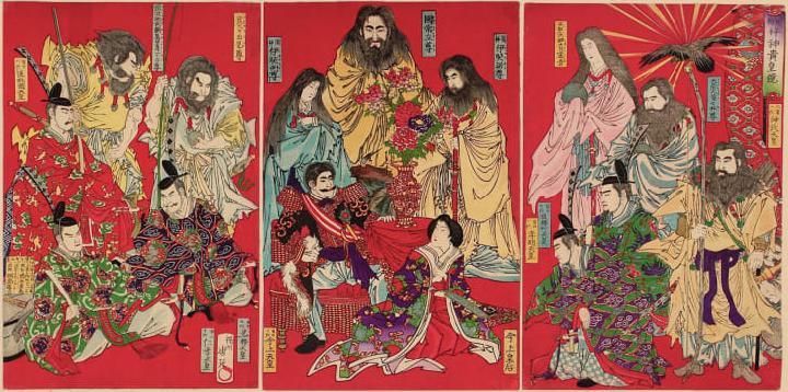 Sejarah Singkat Kaisar Jimmu, Kaisar Jepang Pertama Pewaris Amaterasu 2