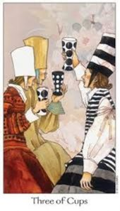 Dreaming Way Tarot Three of Cups