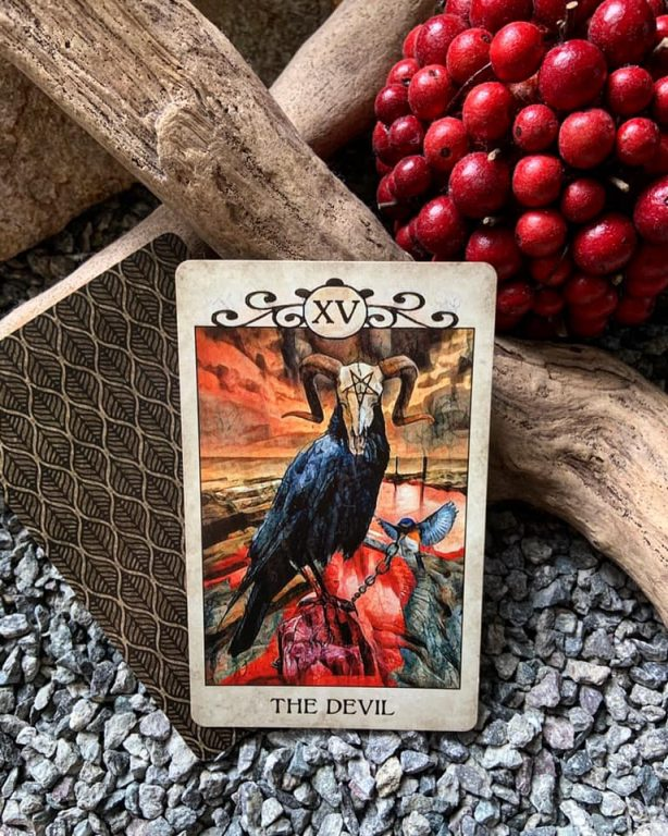 2021012701 The Devil Pan by Joy91 Tarot