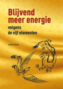 Voorkant van Blijvend meer energie volgend de vijf elementen