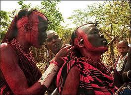 Maasai ceremonie