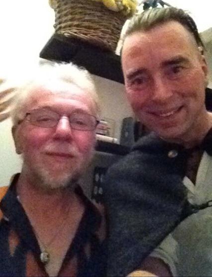 Ko Lankester en Serge van Heel