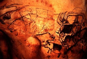Cave painting ochre