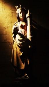 Mariabeeld, door Loes gefotografeerd tijdens een weekendje Zuid-Limburg