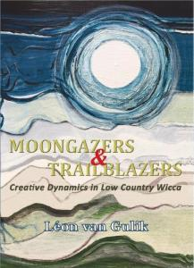 Cover off the book Moongazers and Trailblazers