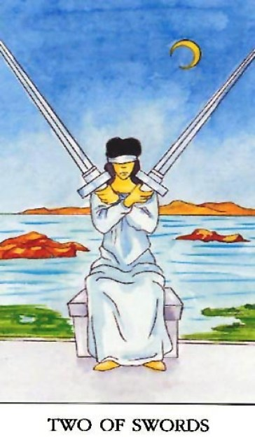 two of swords 2