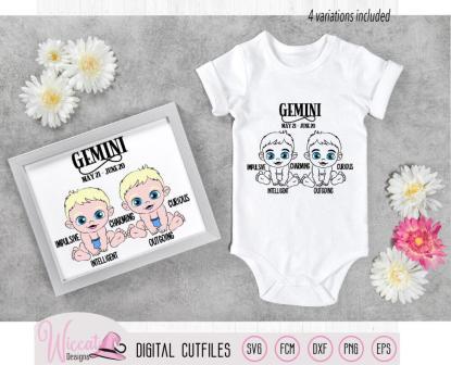 Baby girl Gemini, Baby boy Gemini, Zodiac sign,