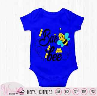 Baby boy bee, Bumblebee svg