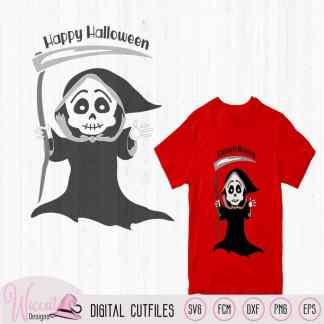 Grim reaper, Halloween skeleton