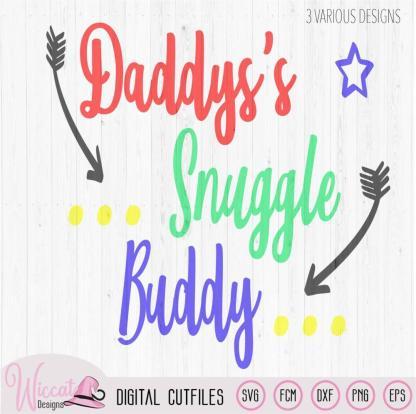 Daddy's snuggle buddy