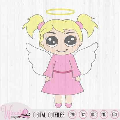 Christmas angel, Kawaii angel