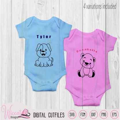 Baby animal bundle, Coloring animals