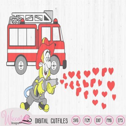Firefighter couple shirt, valentine couple