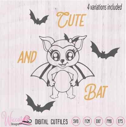 Girly bat halloween, Trick or treat