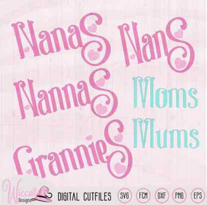 Oma's cupcake quote svg