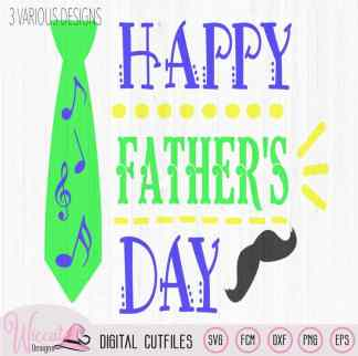 Happy Father's day, word art