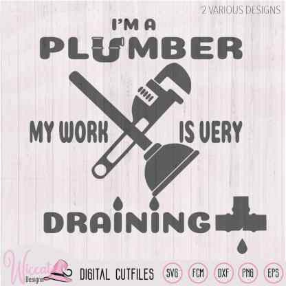 I'm a plumber quote, plumber pun
