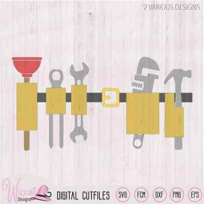 Plumber belt, plumber tools, baby tool belt, man shirt, tumber svg, scanncut fcm, wrench tool, vinyl cut file, htv svg cricut, vinyl craft