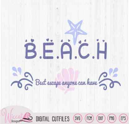 Beach Quote svg, Summer holiday