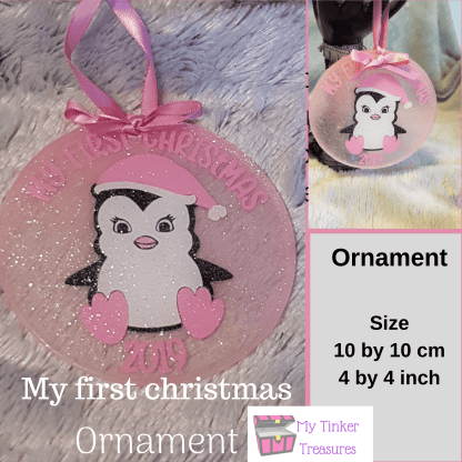 Christmas ornament, My first christmas