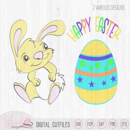 Baby Easter bunny boy, My first Easter, Happy easter